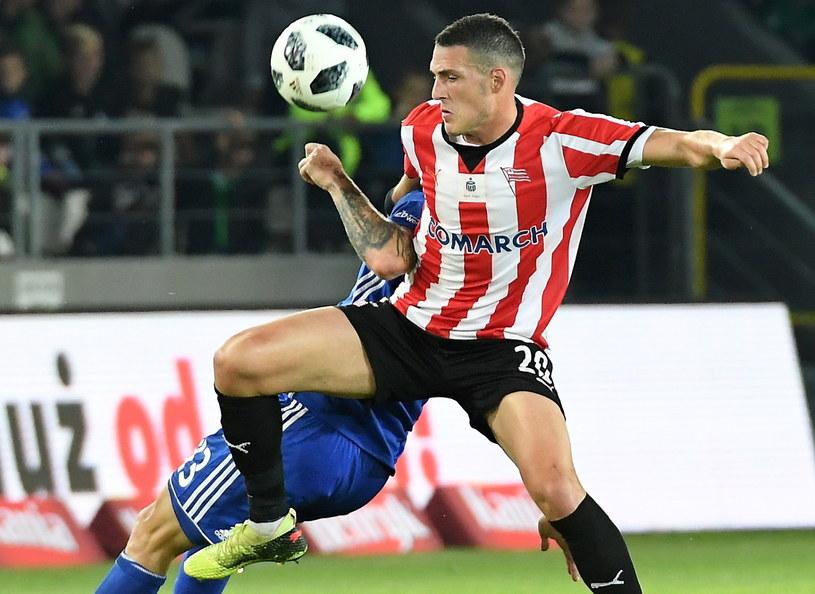Cracovia przegrała z Wisłą 0-2 /Jacek Bednarczyk   /PAP