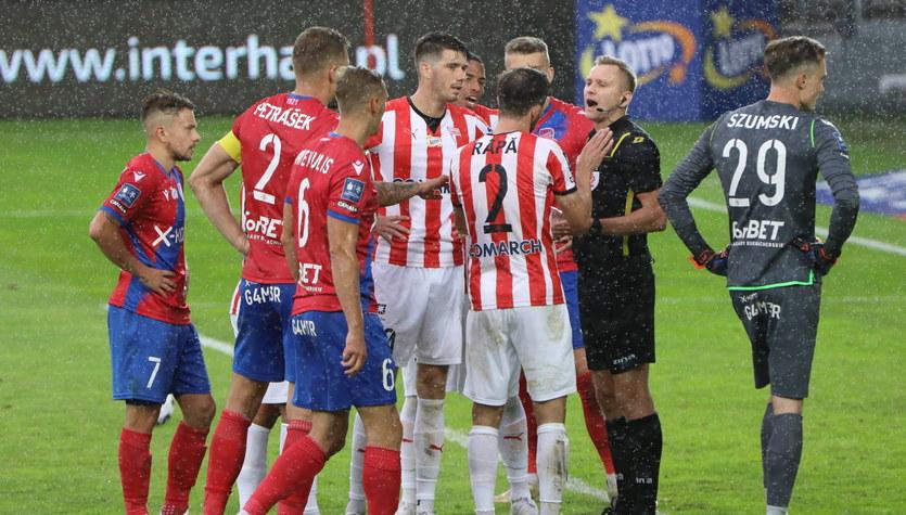 Cracovia - Raków Częstochowa 2-2. Papszun: Ta sytuacja będzie jeszcze analizowana