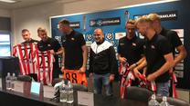 Cracovia. Siedmiu nowych piłkarzy. Wideo