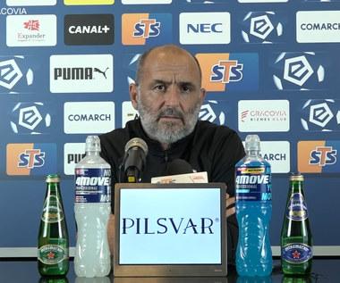Cracovia. Trener Michał Probierz przed startem sezonu 2021/22. Wideo