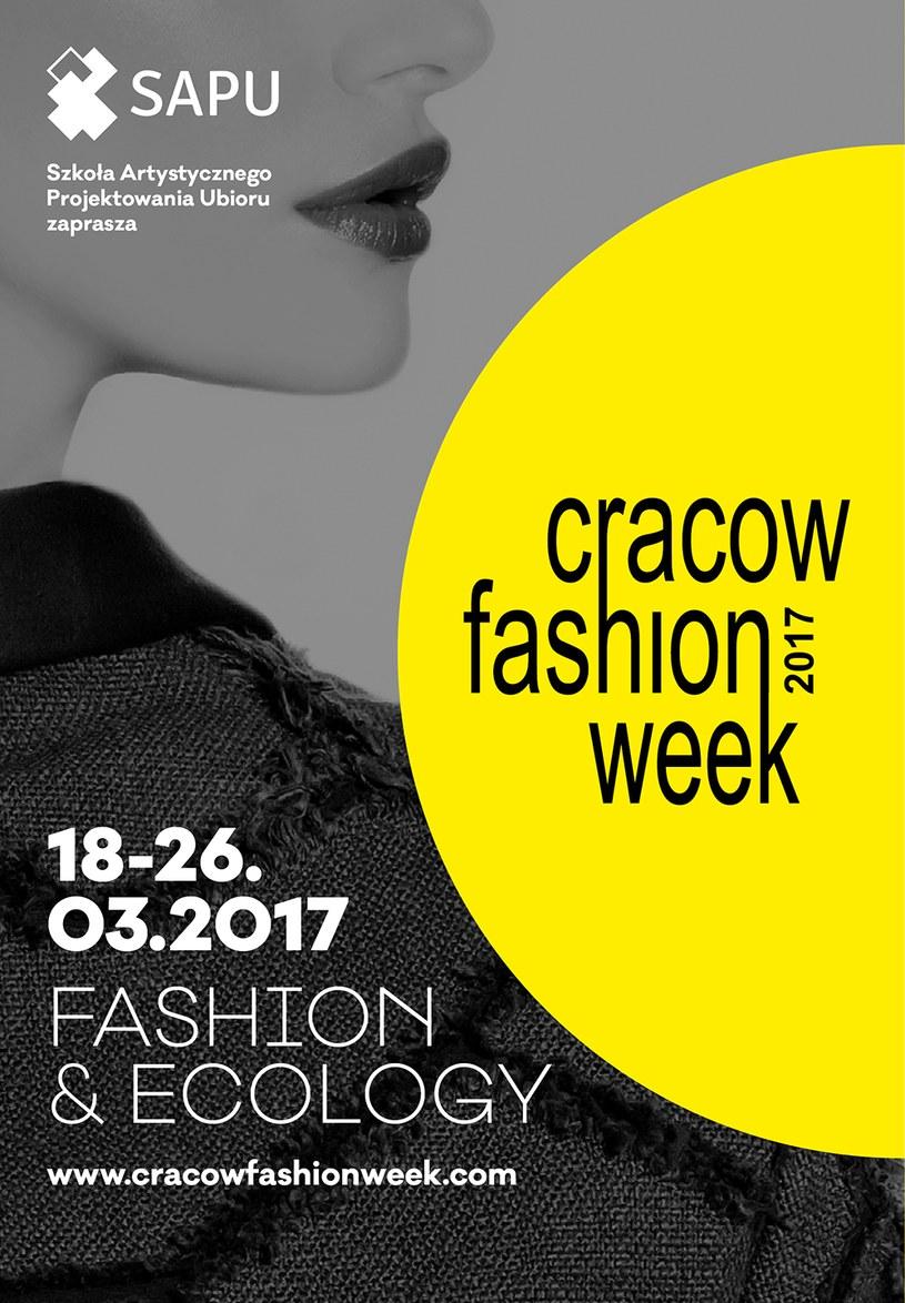 Cracow Fashion Week 2017 odbędzie się w dniach 18-26 marca /materiały prasowe