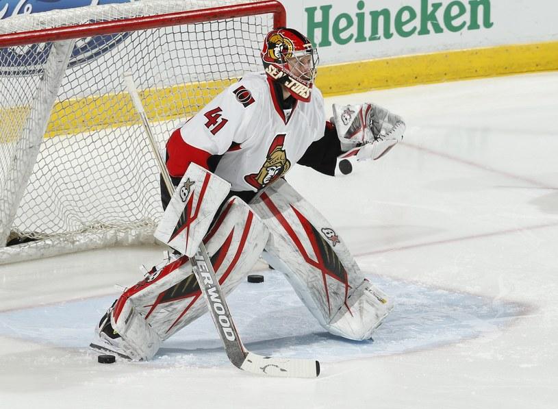 Craig Anderson, bramkarz Ottawa Senators /AFP