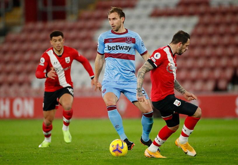Craig Dawson (w środku) w meczu z Southampton /Andrew Boyers - Pool /Getty Images