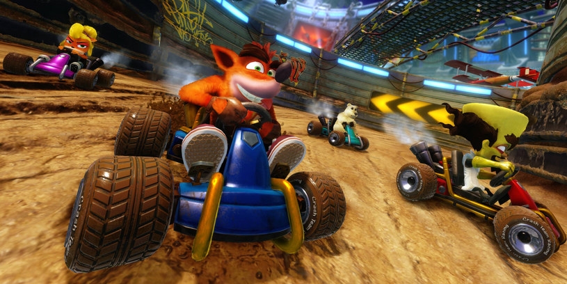 Crash Team Racing /materiały prasowe