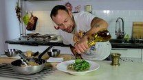 Crazy Chef Cooking. Odcinek 6. Kaszotto z grzybami