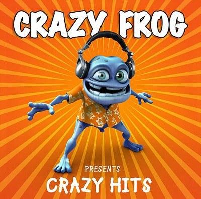 "Crazy Frog na okładce ""Crazy Hits"" /"