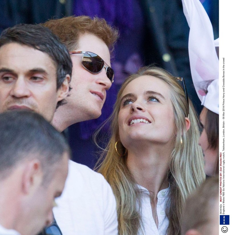 Cressida Bonas i książę Harry, 2014 rok /East News