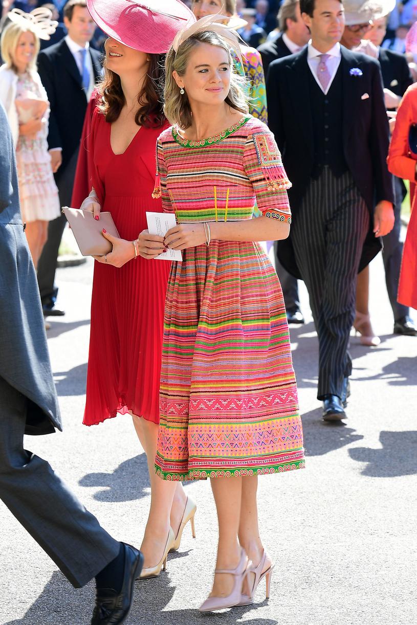 Cressida Bonas na ślubie Meghan i Harry'ego /WPA Pool /Getty Images