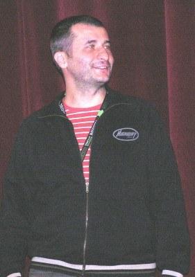 Cristi Puiu zaprezentował w Warszawie dwa filmy /INTERIA.PL