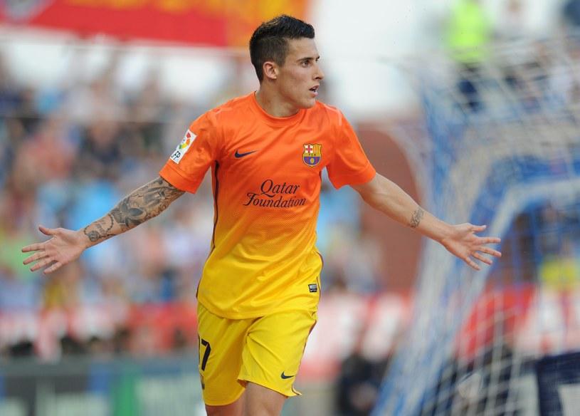 Cristian Tello godnie zastąpił Lionela Messiego /AFP