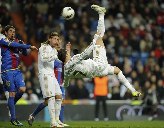 Cristiano Ronaldo był zdecydowanie najlepszym zawodnikiem Realu Madryt /AFP