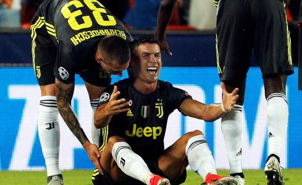 Cristiano Ronaldo czeka na wymierzenie kary przez UEFA