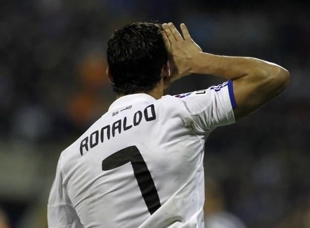 Cristiano Ronaldo drażni manierami gwiazdy, ale jest w wyśmienitej formie /AFP
