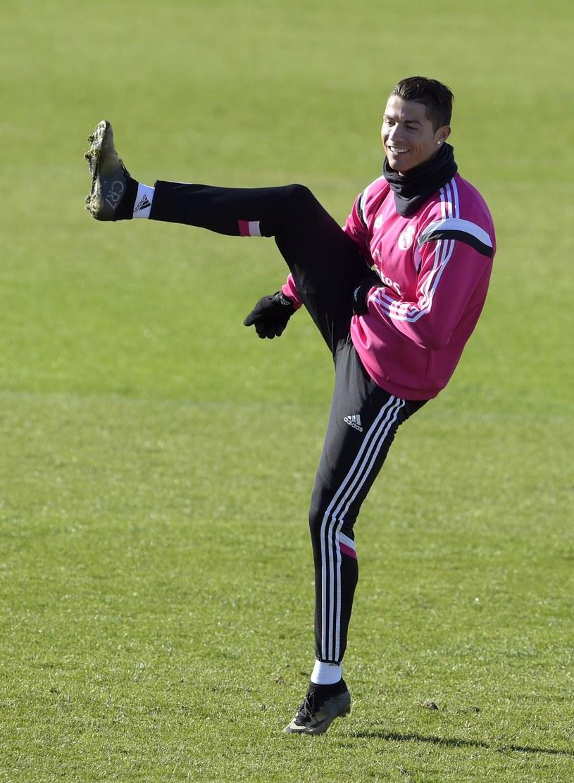 Cristiano Ronaldo, gwiazda Realu Madryt /AFP