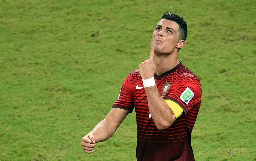 Cristiano Ronaldo, gwiazda reprezentacji Portugalii /AFP