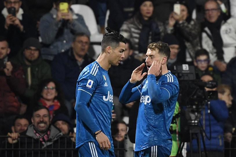 Cristiano Ronaldo i Aaron Ramsey /ISABELLA BONOTTO /AFP