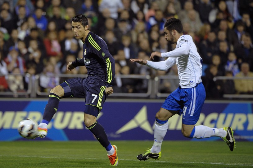 Cristiano Ronaldo i Alvaro Gonzales /AFP