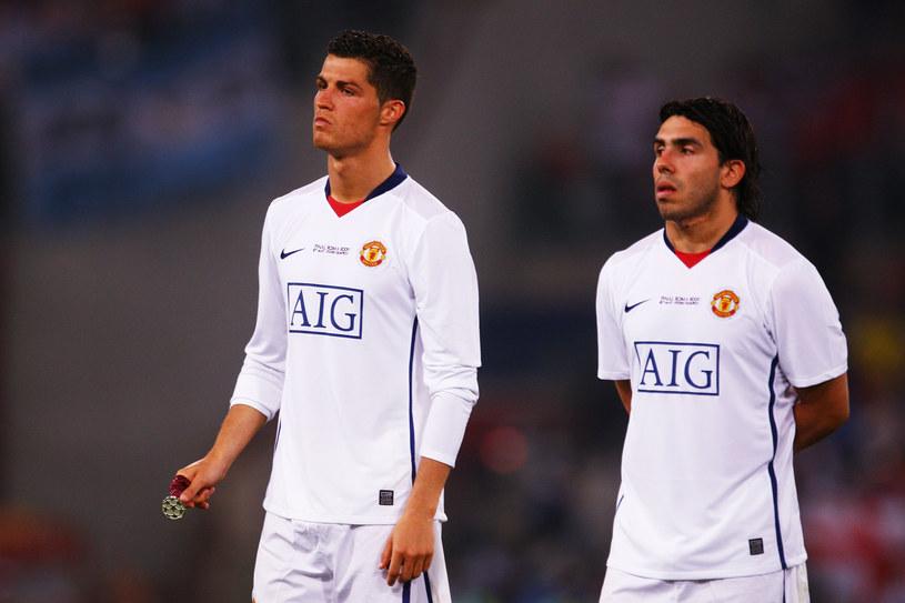 Cristiano Ronaldo i Carlos Tevez. Ich miny mówią wszystko /Laurence Griffiths /Getty Images