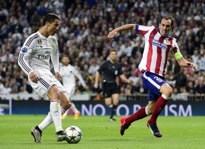 Cristiano Ronaldo i Diego Godin /AFP