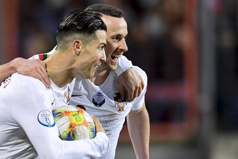 Cristiano Ronaldo i Diogo Jota /AFP