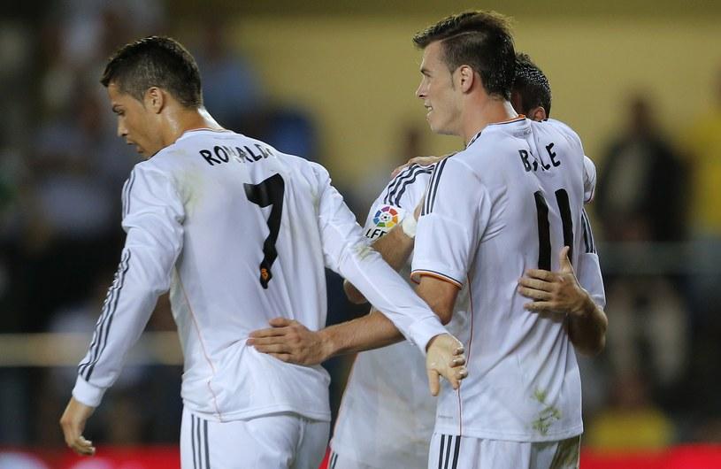 """Cristiano Ronaldo i Gareth Bale - zabójcze skrzydła """"Królewskich"""" /AFP"""
