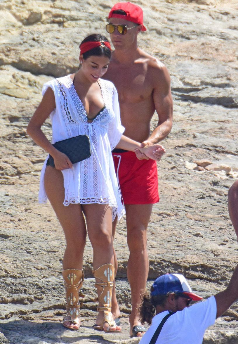 Cristiano Ronaldo i Georgina Rodriguez /G3 Online  /East News