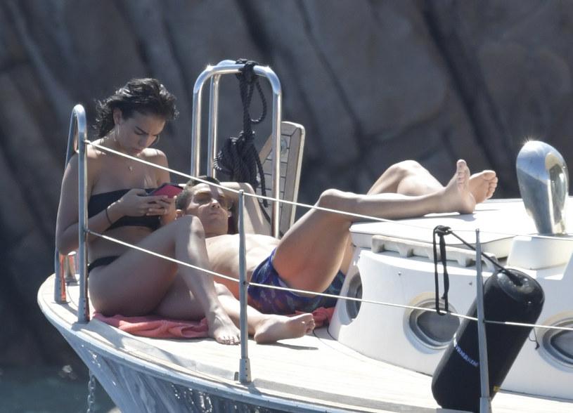 Cristiano Ronaldo i Georgina Rodriguez /Agencja FORUM