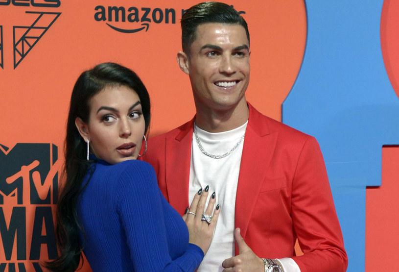 Cristiano Ronaldo i Georgina Rodriguez /AFP