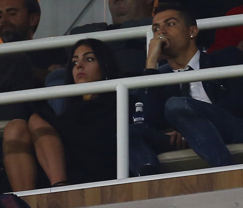 Cristiano Ronaldo i Georgina /Associated Press /East News