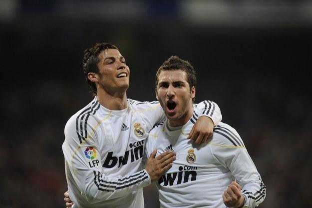 Cristiano Ronaldo i Gonzalo Higuain /AFP