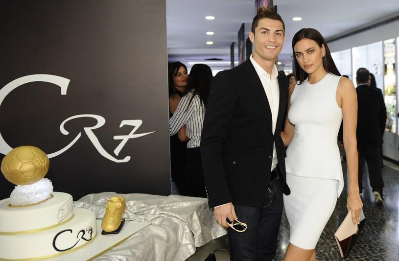 Cristiano Ronaldo i Irina Szajk /AFP
