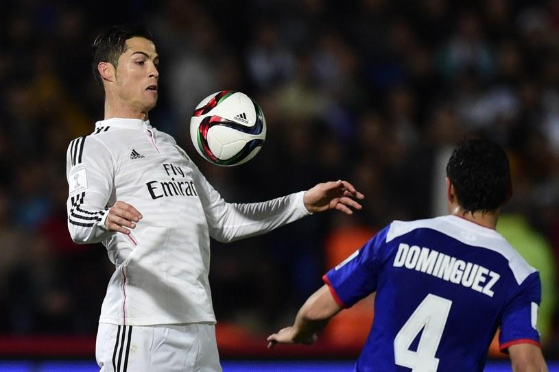 Cristiano Ronaldo i Julio Dominguez /AFP