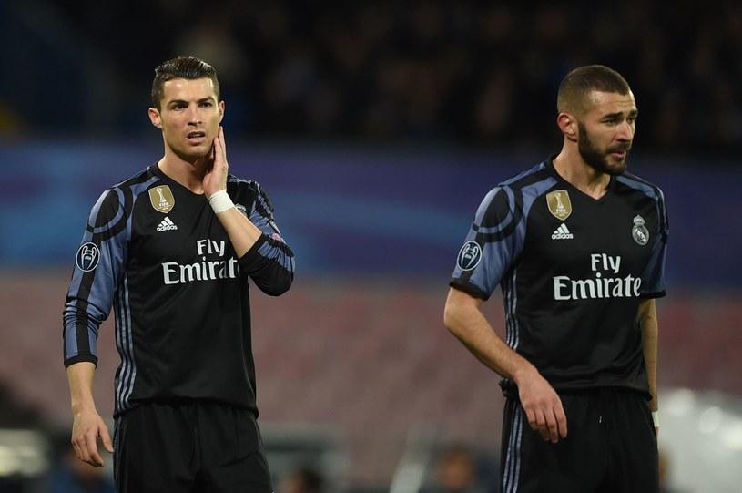 Cristiano Ronaldo i Karim Benzema /AFP
