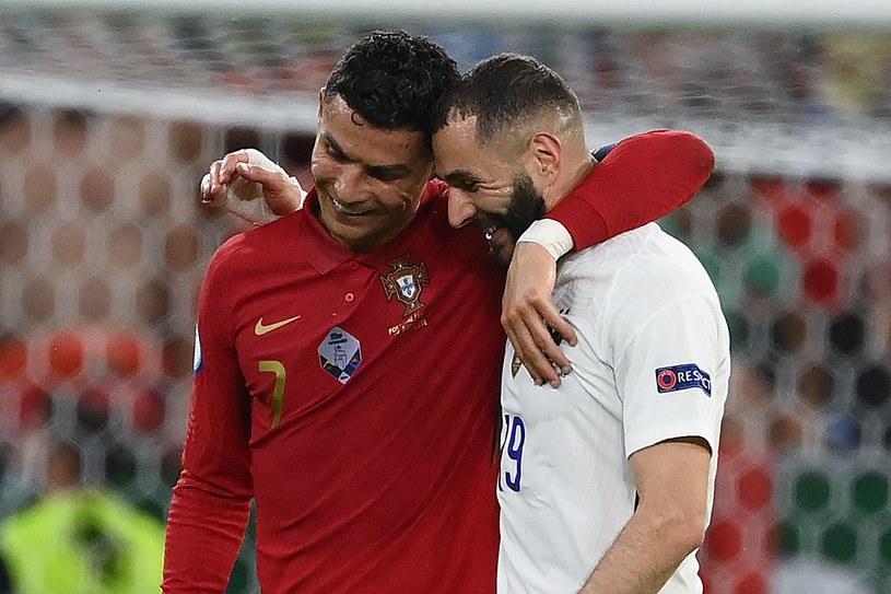 Cristiano Ronaldo i Karim Benzema /FRANCK FIFE /AFP