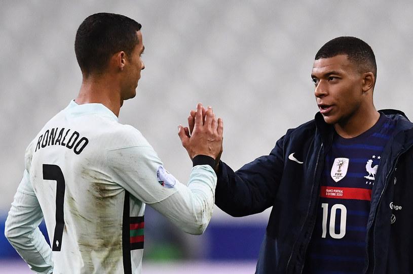 Cristiano Ronaldo i Kylian Mbappe /FRANCK FIFE /AFP