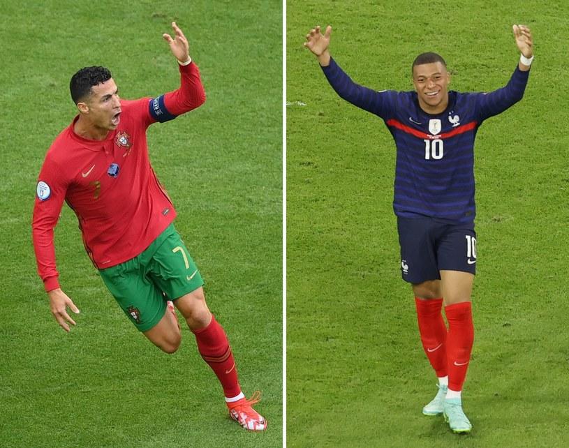 Cristiano Ronaldo i Kylian Mbappe /AFP