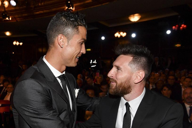 Cristiano Ronaldo i Leo Messi /BEN STANSALL /AFP