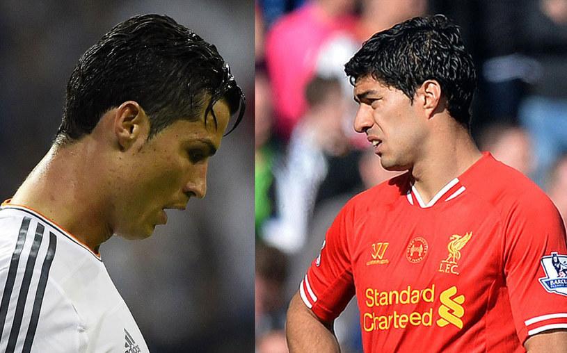 Cristiano Ronaldo i Luis Suarez /AFP