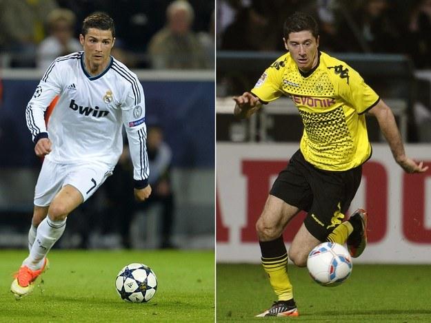 Cristiano Ronaldo i Robert Lewandowski /AFP