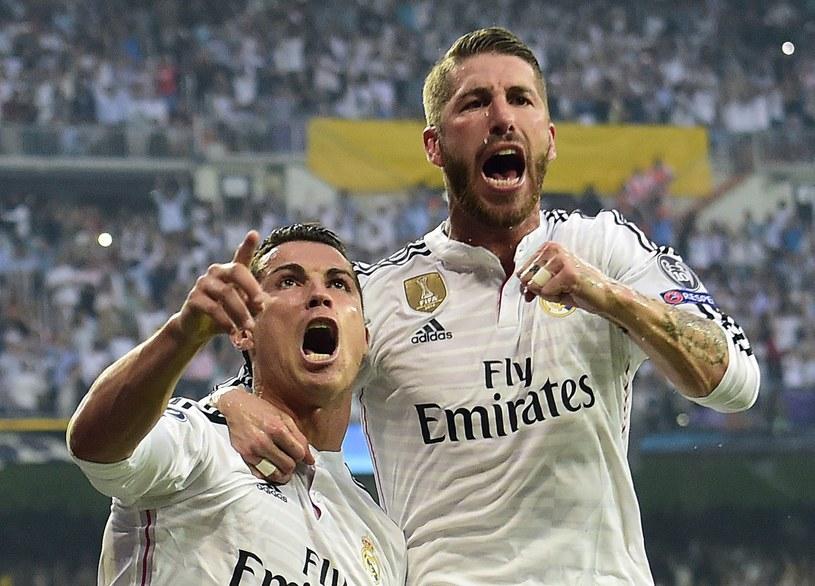 Cristiano Ronaldo i Sergio Ramos /AFP