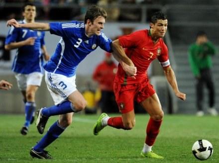 Cristiano Ronaldo i Toni Kallio /AFP