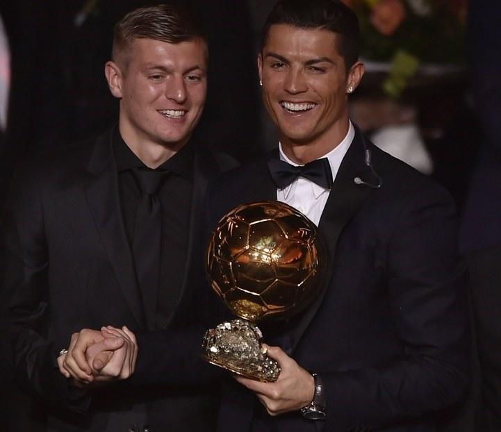 Cristiano Ronaldo i Toni Kroos /AFP