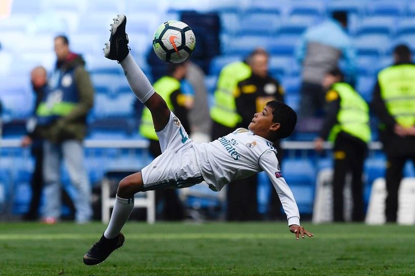 Cristiano Ronaldo junior w akcji /AFP