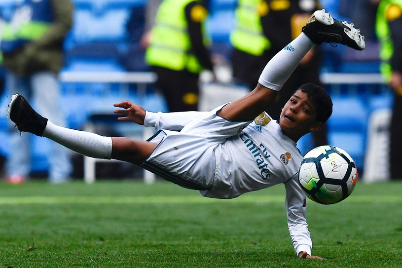 Cristiano Ronaldo junior /AFP