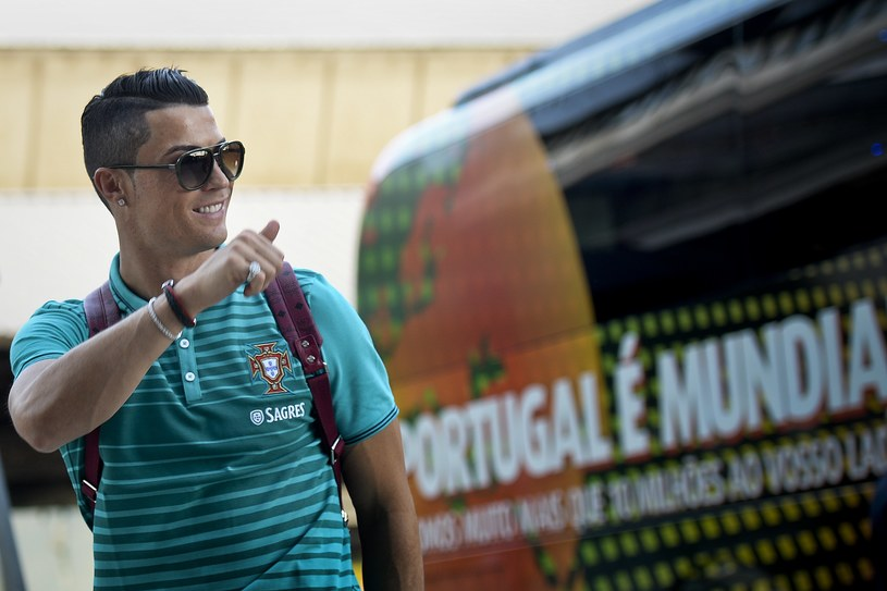 Cristiano Ronaldo - lider reprezentacji Portugalii /AFP