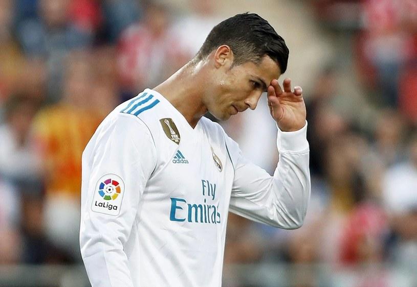 Cristiano Ronaldo ma o czym myśleć /PAP/EPA
