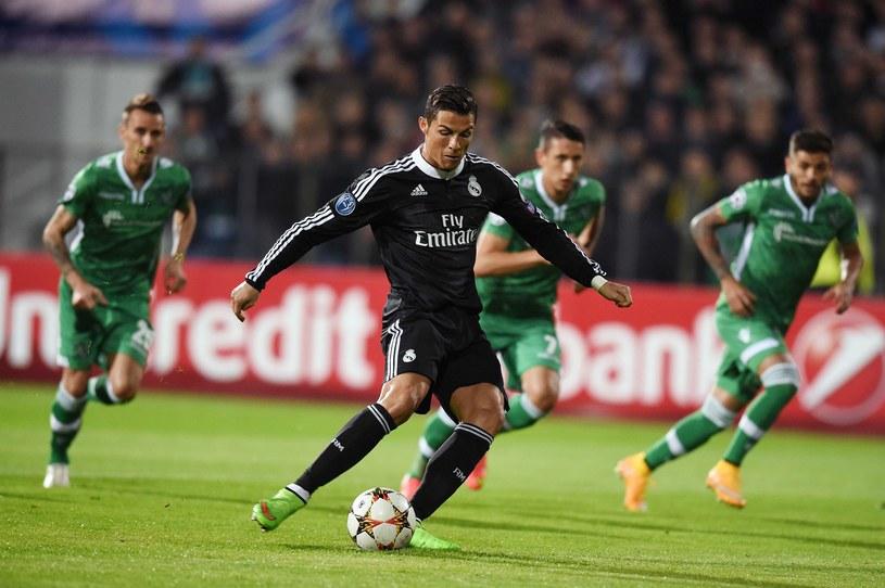 Cristiano Ronaldo marnuje karnego /AFP