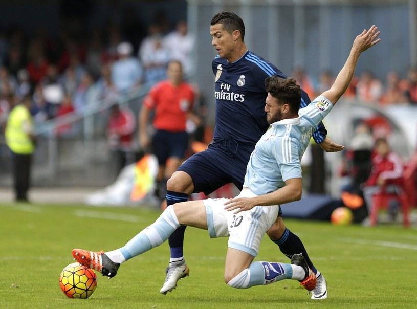 Cristiano Ronaldo mija Sergia Gomeza /PAP/EPA