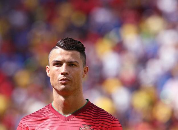 Cristiano Ronaldo na boisku - fot. Warren Little /Getty Images