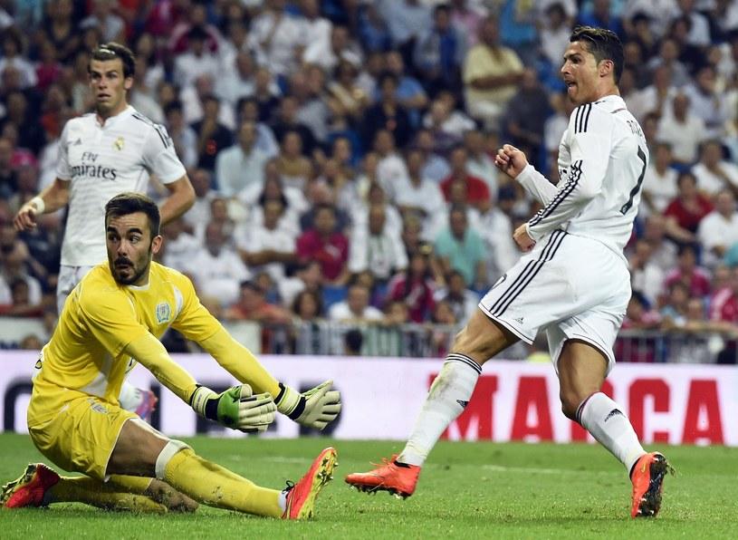 Cristiano Ronaldo nie chciał skomentować transferów Realu Madryt /AFP